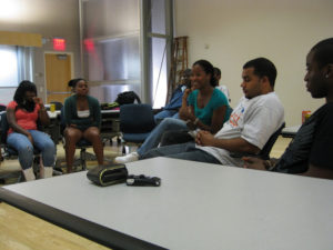 ProCSI 2008 members listen to a lecture