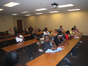 ProCSI 2009 members listen to a lecture