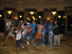 A funny group picture of ProCSI 2010 members at the Wisconsin capitol
