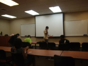 ProCSI 2011 members take part in a discussion