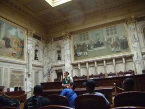 ProCSI 2011 members tour the Wisconsin capitol