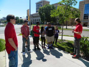 ProCSI 2014 members get a tour of the University of Wisconsin-Madison campus
