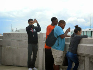 A few ProCSI 2014 taking pictures of the Madison scenery