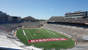 A picture of the field at Camp Randall