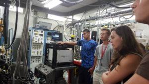 ProCSI 2015 members listen to a lab tour