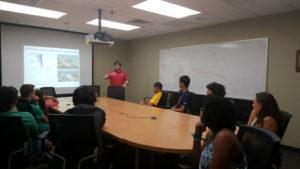 ProCSI 2015 members take part in a discussion