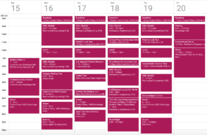 Schedule for ProCSI 2012
