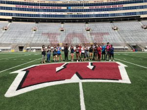 Group picture of ProCSI 2018 at Camp Randall
